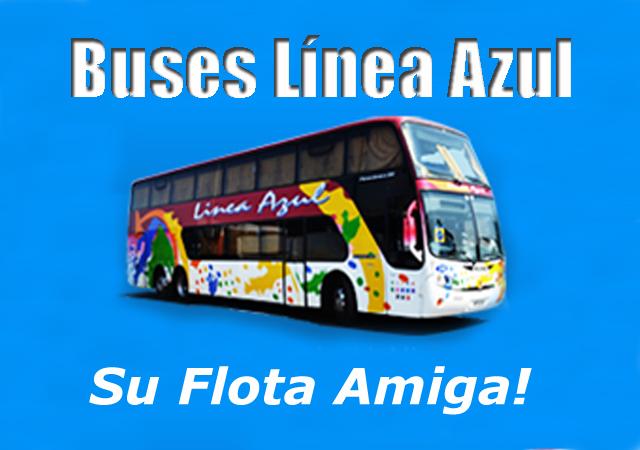Buses línea azul